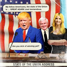 TRUMP, The Presidency: The State of the Union is Great Again
