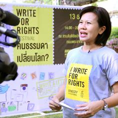 A Five-Foot Fighter Battling For Human Rights in Thailand