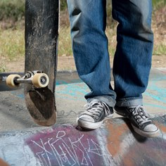 Passed Down From Father to Son: A Skateboard?