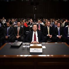 What James Comey Didn't Say in His Blockbuster Hearing …