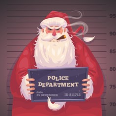 How Many Crimes Would Santa Be Guilty of if He Were Real?
