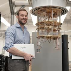 Can This Quantum-Computing Genius Beat Out IBM and Google?