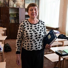 Reading, Writing, Taking Cover: Teaching in Ukraine