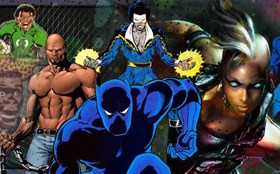 Black Comic Book Characters: From Sidekicks to Bosses