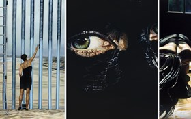The Artist Who Erased the Mexican Border … in a Little Black Dress