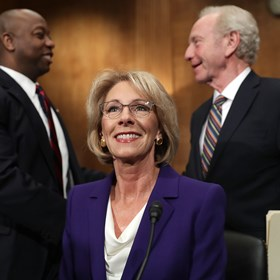The Question Betsy DeVos May Never Live Down