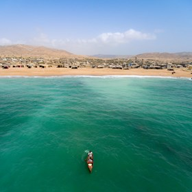 Karachi's Picture-Postcard Beach