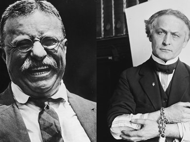 When Harry Met Teddy: How Houdini Fooled a President