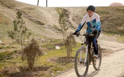 Girls on Bikes in the Shadow of the Taliban