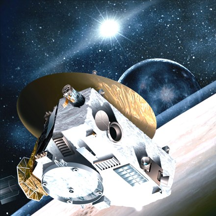 NASA's New Horizons nears Pluto.