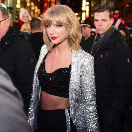 taylor swift new years shutterstock 240957160