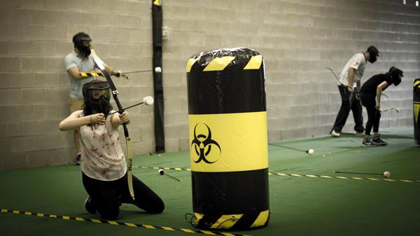 Archery Tag: May the Odds Be Ever in Your Favor